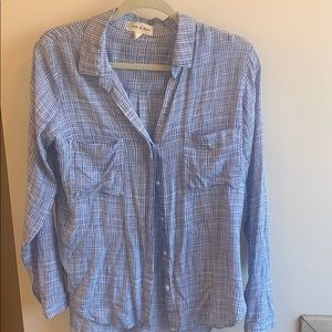Cloth and stone button down from Anthropologie